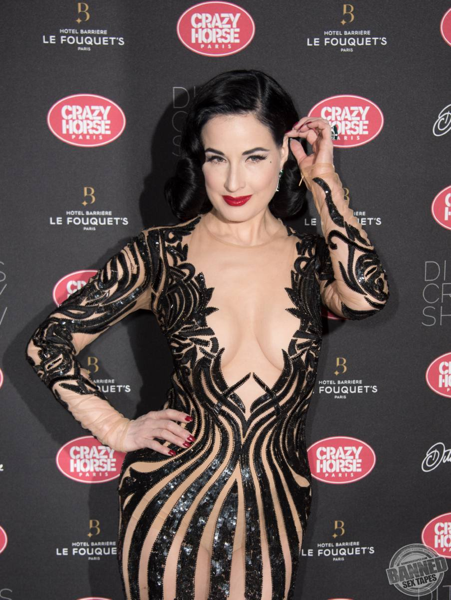 Dita Von Teese Naked Pictures 9