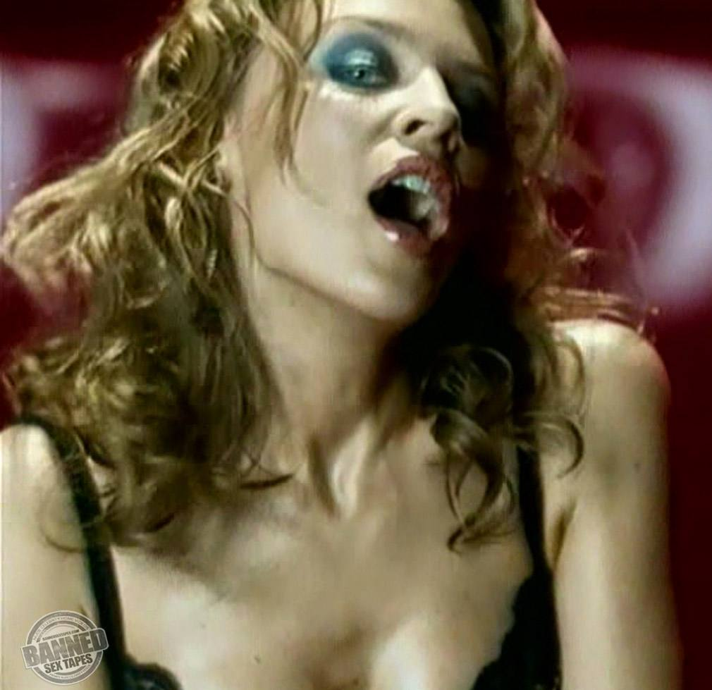 Kylie Minogue Wows In Lingerie At 46 -- See The Hot
