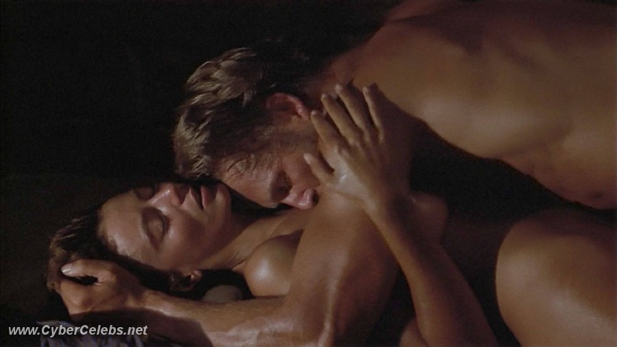 Nude celebs Rachel Ward making out under the