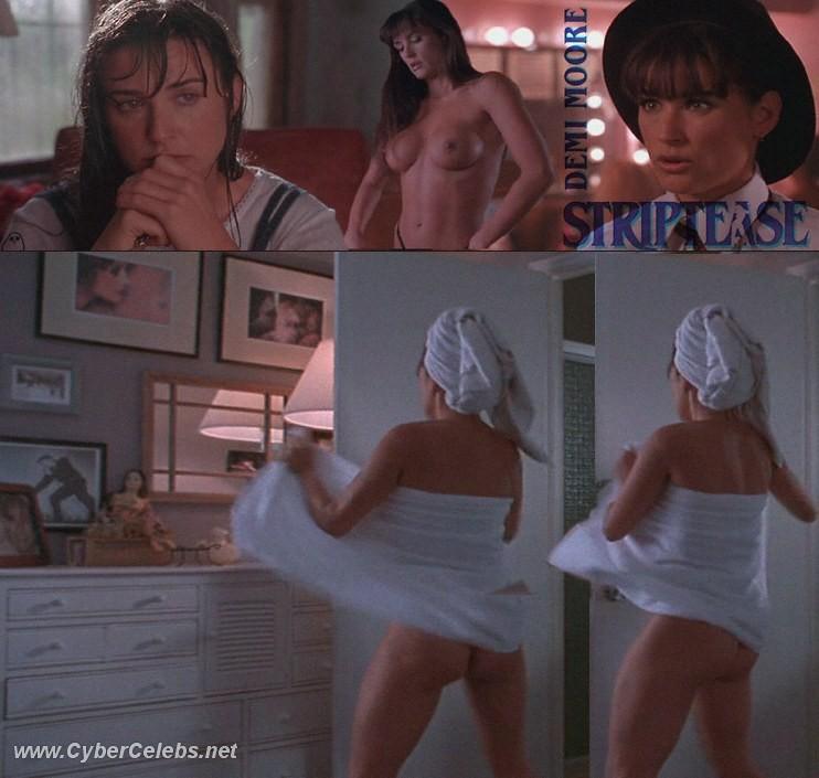 demi moore all nude scenes